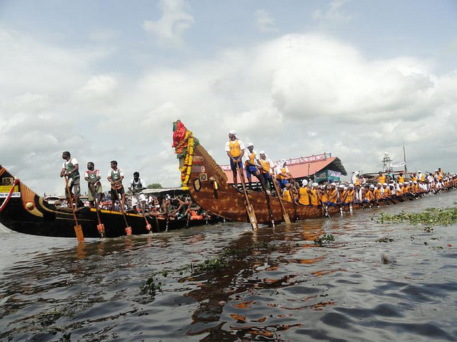 alleppey boat race image