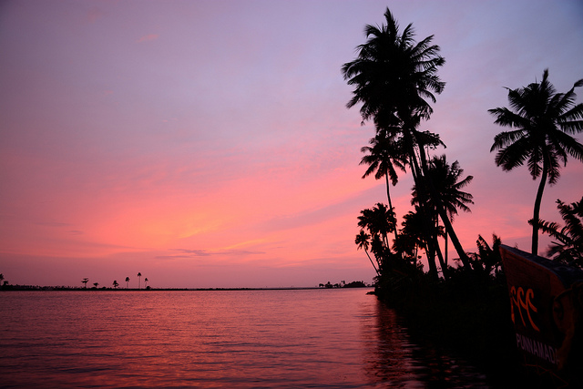 sunset alleppey