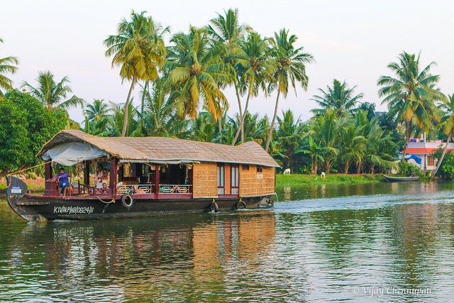 Kerala Points Of Interest 1 - Alleppey Backwaters